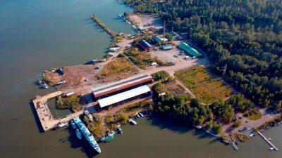 Isnäs harbour, Lovisa