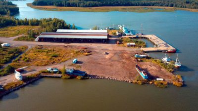 Isnäs satama Loviisa