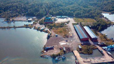Isnäsin satama-alue, Edöntie 138, Loviisa